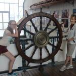 Anchor Slave and Admiral at Wheel