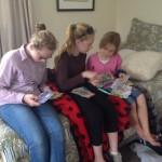 Kids with Victoria from Fluenta
