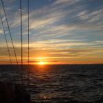 Sunset at Morton Island