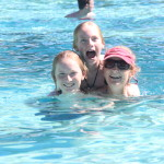 Three Lady's in the Pool
